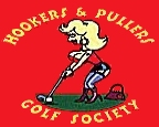 Logo: Hookers & Pullers  Golf  Society